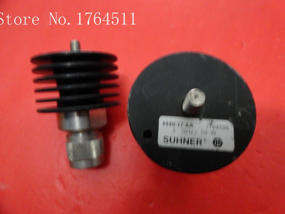 [BELLA] SUHNER 6550.17.AA DC-5GHz 50W N Supply Load