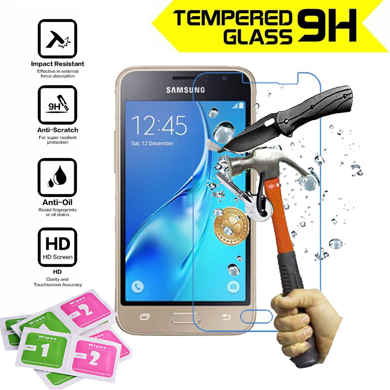 1pcs glass screen protector film for Samsung Galaxy J1 2016 polarizer protective film protection tempered glass