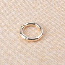 3 4 cal (20mm) pozłacane wiosna O pierścień tanie tanio PL-456 Metal Rongxiao