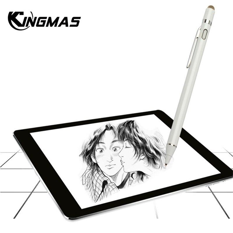 Per apple Matita, kingmas nuovo di Alta precisione dello stilo penna di capacità di tocco Della Matita per ipad 2018 Pro mini con vendita al dettaglio di Imballaggio