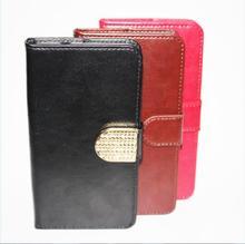 Luxury Retro Flip Case For Coque Micromax AQ5001 D320 Q414 Q380 PU Leather + Soft Silicon Wallet Cover Case Phone Fundas