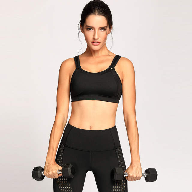 078cbd6a47 Online Shop SYROKAN Women s High Impact Full Coverage Non Padded Wire Free  Run Sports Bra