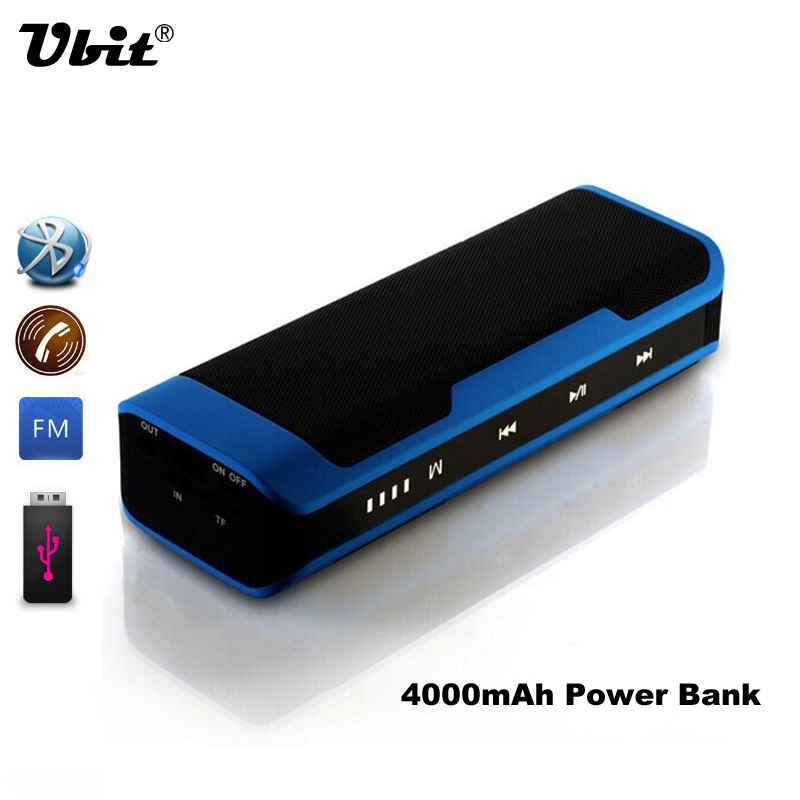 Ubit bt j6 altavoz portátil mini bluetooth estéreo caja de sonido mp3 Táctil rep