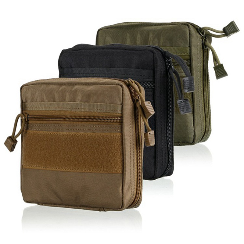 Outdoor Multifunction Medical Tactical Military Waterproof First Aid Pouch Kit Camping Hiking Emergency Survival Tools