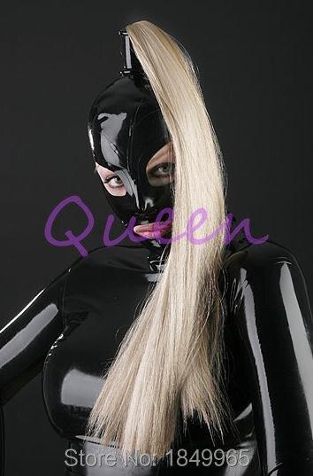 Женщинская резиновая секс маска