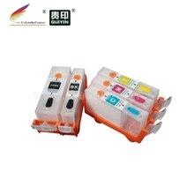 RCC550-5) перезаправляемый картридж для Canon PGI-550 CLI-551 PGI550 CLI551 PGI 550 CLI 551 IP 7250 мг 5450 5550 6450 MX 925 725