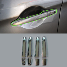 car parts ABS chrome smart door handle cover 8pcs Car Styling accessories For Mitsubishi 2013 ASX