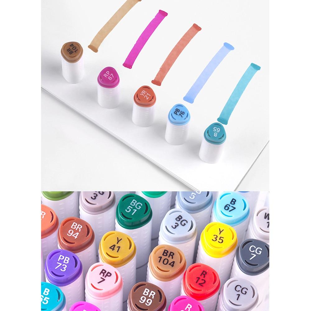 dupla cabeca esboco marcadores escova caneta para 03