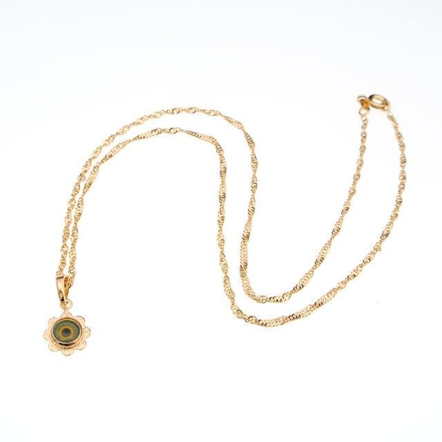 Женское ожерелье с подвеской «глаз дьявола»