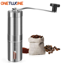 Manual Coffee Grinder Coffee Maker Ceramics Core 304 Stainless Steel Hand Burr Mill Grinder Ceramic Corn Coffee Grinding Machine portable manual coffee maker with coffee bean grinder all in one machine stainless steel coffee machine cafetiere cafetera