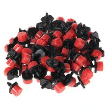 200 Pcs Adjustable Irrigation Sprinkler Drip System ,Drip Emitters Dripper Garden Supplies