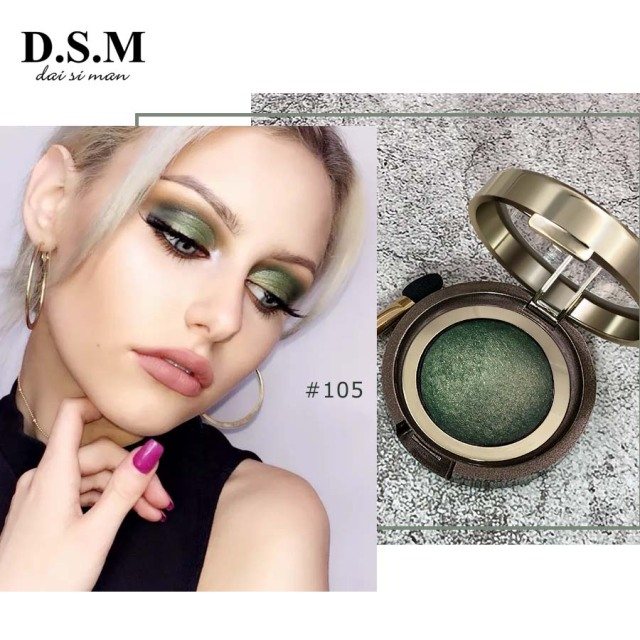 D.S.M Brand New Mineralize Eye Shadow Waterproof Long-lasting Cosmetic Eyes Perfect Shades Luminous Pigment Makeup Eyeshadow 3