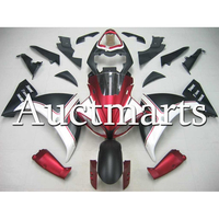 ABS Injection Matte Black Pearl Red White Fairing For Yamaha R1 2009 2010 2011 Year YZF1000 09 11 Full Motorcycle Bodywork