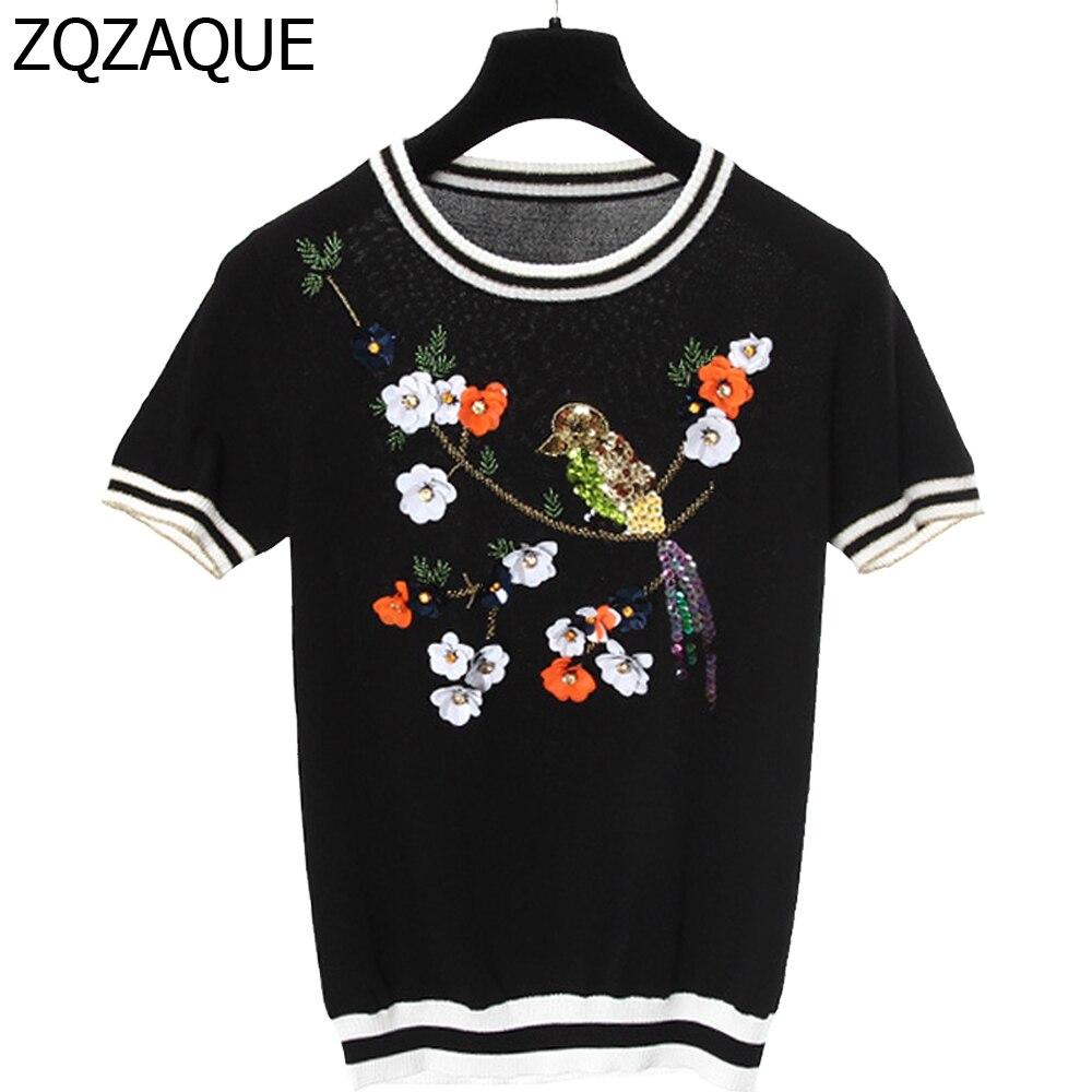 95a54e0b best top t shirt women birds flowers brands and get free shipping ...