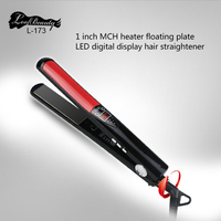 New Professional Hair Straightener LED Display Flat Iron Straightening Irons Straight Hairstyle Styling Tools Free Shipping