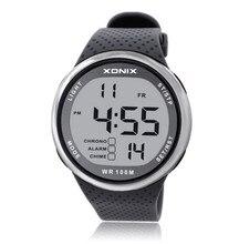 f03dea9a70f Esportes homens Relógios Digitais À Prova D  Água 100 m Relógio Multi  Função de Natação