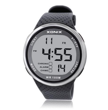 Men Sports Watches Digital Waterproof 100m Led Light Swimming Watch Multi Function Boys Watch Outdoor Wristwatch