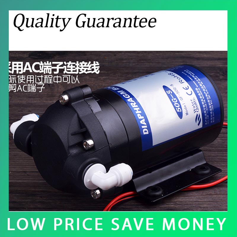 24V 50G-S Water Purifier Water Pump Small Booster Pump