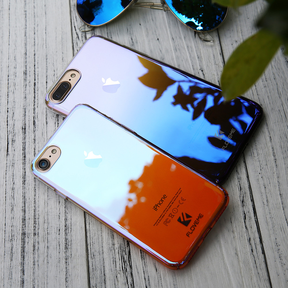 77d2a7e02a6 Aurora Blue Ray Light Phone Cases For iPhone 6 7 Case 6 6S 7 Plus ...