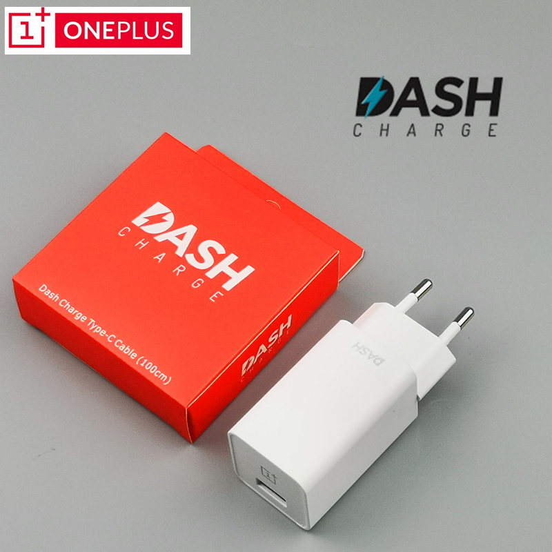 Oneplus 7 dash charger Original One Plus 6 6t/5t/5/3t/3 Smartphone 5V/4A Fast Charge Usb Wall EU Power Adapter Usb Type C cable