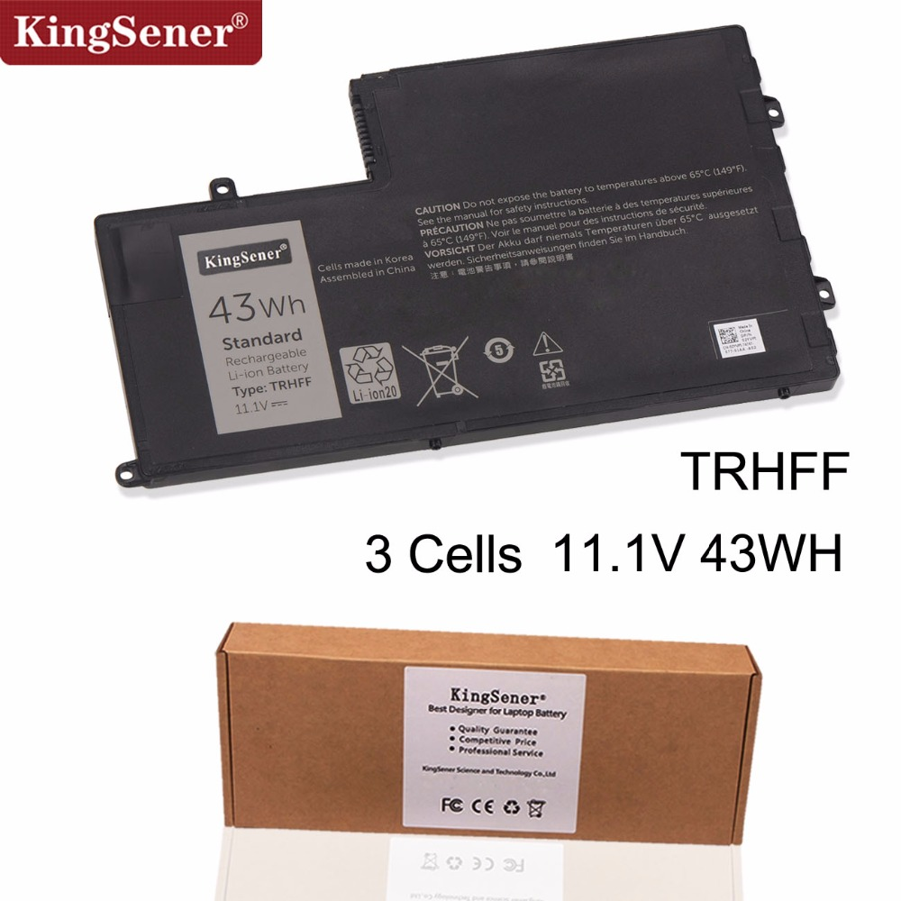 Bateria Do Portátil Para Dell TRHFF KingSener Inspiron 14 15-5547 5447 5445 5448 5548 para Latitude 3450 3550 TRHFF 1V2F6 01V2F 43WH