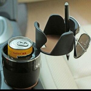 Image 3 - אוניברסלי תכליתי רכב כוס מחזיק Rotatable Convient עיצוב נייד טלפון לשתות משקפי שמש מחזיק משקה מחזיק אבזרים