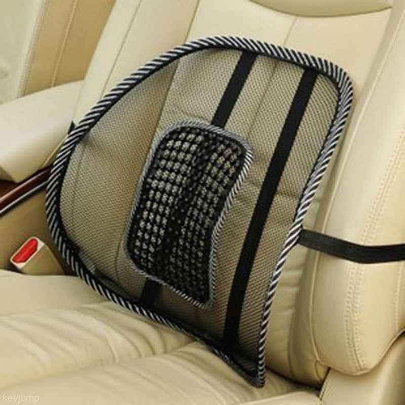 Горячая Распродажа, удобное Сетчатое кресло, облегчающее поясничную боль в спине, Автомобильная подушка, офисное кресло, черная поясничная подушка