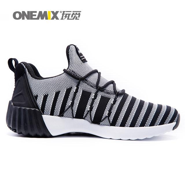 Online Shop ONEMIX Man Running Sepatu untuk Pria Mesh Bernapas Trail ... f8cf02c4ce