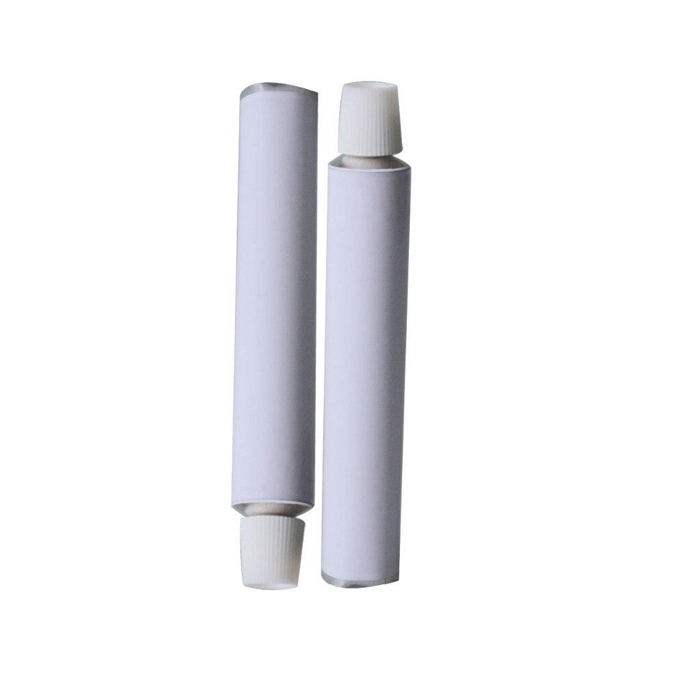 50 قطع الأبيض الألومنيوم فارغة أنابيب معجون الأسنان w/إبرة كاب تفض 10 ملليلتر 20 ملليلتر 30 ملليلتر 50 ملليلتر 100 ملليلتر-في زجاجات التعبئة من الجمال والصحة على  مجموعة 2
