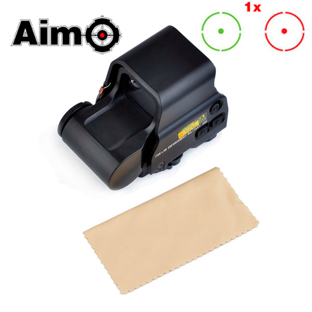 AIM-O Tactical Riflescope 2-0 Red/Green Dot & QD Mount Scope Softair Pistol Colimador Airsoft Telescope AO3056 Hunting Optics