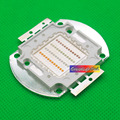 1 pcs New 50 W High Power chip led RGB + Branco Frio/RGBW led chip 10-11.6 V para luz do estágio.