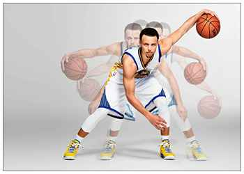 Stephen Curry Basketball Star Art Coated paper Painting Home Room Decor High Quailty printing Wallpaper Modern Decoration 1