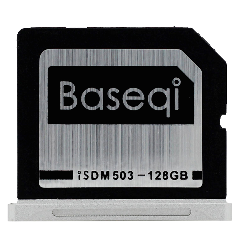 Original Baseqi Aluminum Minidrive with 128GB Storage for Macbook Pro Retina 15inch Year Early 2013 /and Before 5pcs set original baseqi aluminium dust plugs quality dustproof plug for macbook pro retina 13