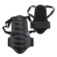 Exercise Protect Removable Ski Sports Back Vest Protection Ski Body Armor Backpiece Back Protective Protector Body Spine Armor