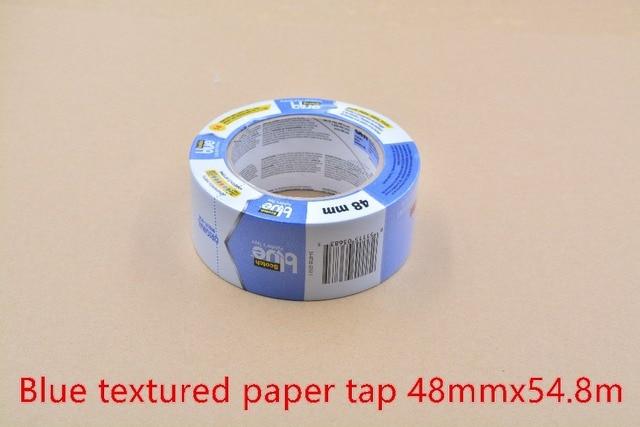 3d printer adhesive tape 48mm x 54.8m crepe paper blue masking tape hotbed high temperature resistant adhesive tape 1pcs