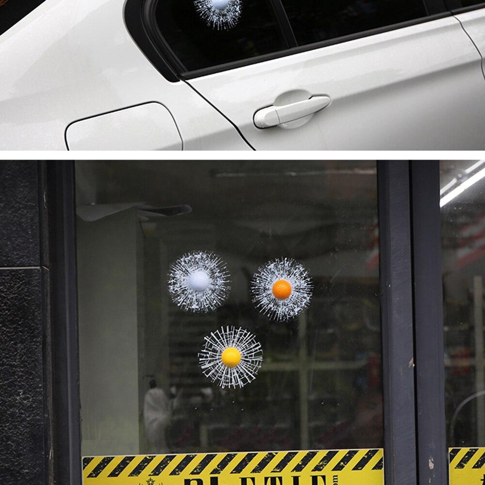Aliauto Funny 3D Car Sticker Golf- ը հարվածեց - Ավտոմեքենայի արտաքին պարագաներ - Լուսանկար 5