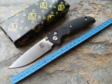 2016 новый Высококачественный JIAHENG 0770 Подшипник система Floding нож D2 черноты лезвия G10 ручка выживание охота кемпинг инструмент OEM