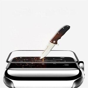Image 5 - Suntaiho Dành Cho Đồng Hồ Apple 4 Tấm Bảo Vệ Màn Hình 4D Kính Cho Đồng Hồ Apple 42 Mm 38 Mm 40 Mm 44mm Dùng Cho Các Dòng Đồng Hồ Apple 2 1 3 4