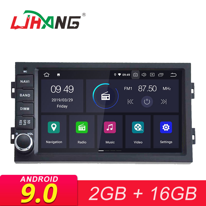 LJHANG 1 Din Android 9.0 Car Radio For Peugeot 308/308s 2013-2017 Car Multimedia Player Stereo Auto Audio GPS Navigation DVD IPS