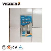VISBELLA 120 шт. клей для порошка 7 секунд Быстрое исправление быстрое заполнение для ремонта двойной смолы мгновенный сварочный набор герметик