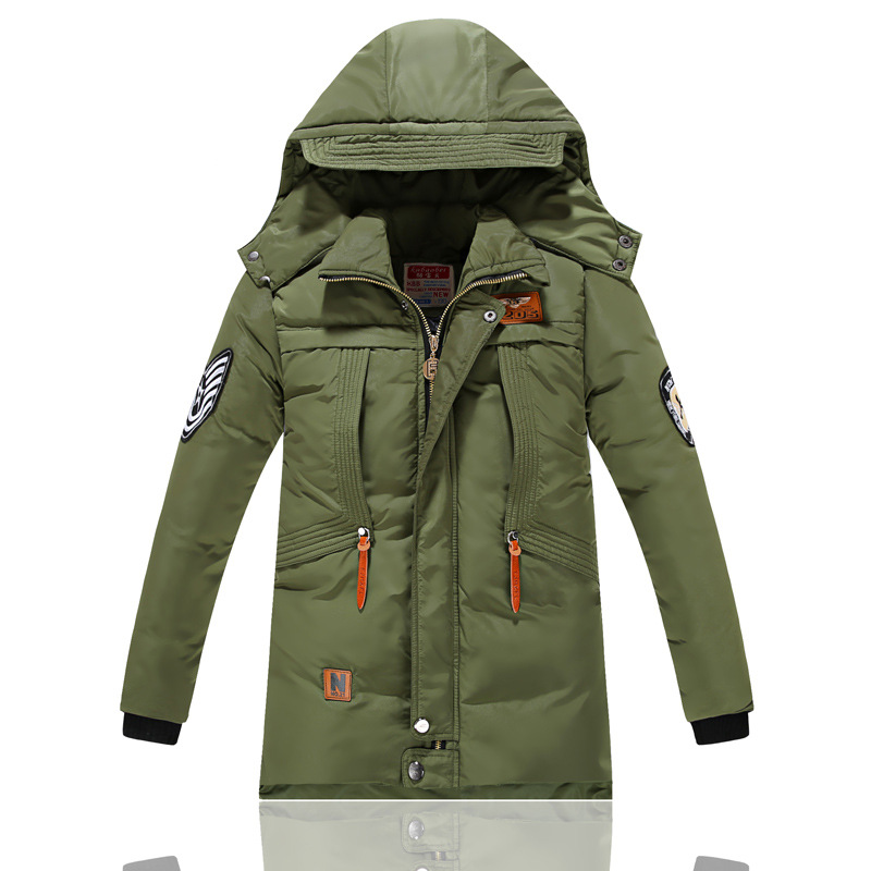 2016 Fashion Winter Jacket For Boys Warm Jackets Coats Outerwears Thick Hooded Down Cotton Jackets For Children Boy casual 2016 winter jacket for boys warm jackets coats outerwears thick hooded down cotton jackets for children boy winter parkas