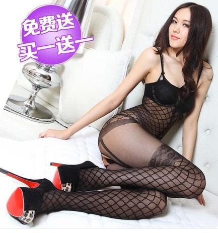 free shipping hot bodystocking Sexy Lingerie Women's Sheer Sex Clothing New Brand Sexy Body Suit Game Uniforms Body Stocking
