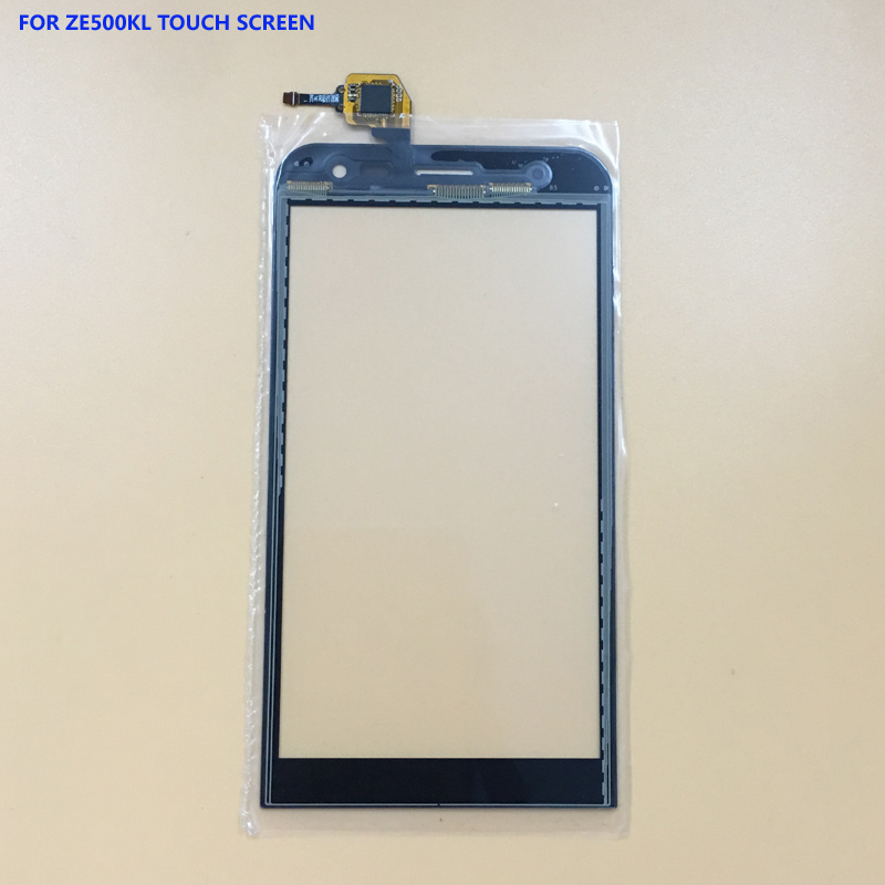 100% Test Black For ASUS ZenFone 2 Laser ZenFone2 ZE500KL Front Touch Screen Digitizer Panel Glass Sensor Replacement