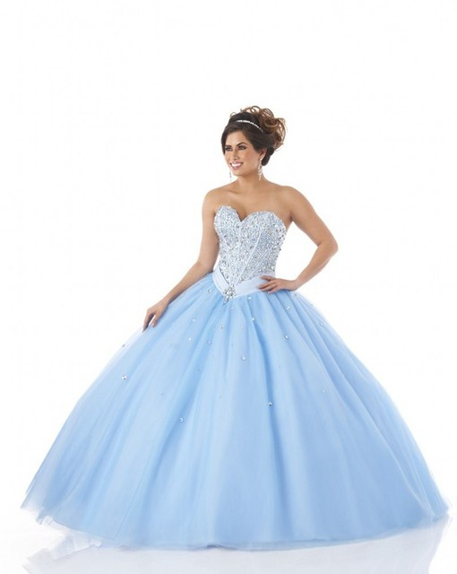 b4a8dfb44d5 Light Blue Quinceanera Dresses With Bow Vestido Debutante Lace Up Ball Gown  Quinceanera Dress Vestido De 15 Anos Sweet 16 Dress
