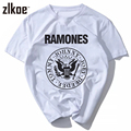 RAMONES t shirt men camiseta 3d print rock hip hop casual spring 2017 NEW t shirt men blusas camisas masculinas milk silk tshirt