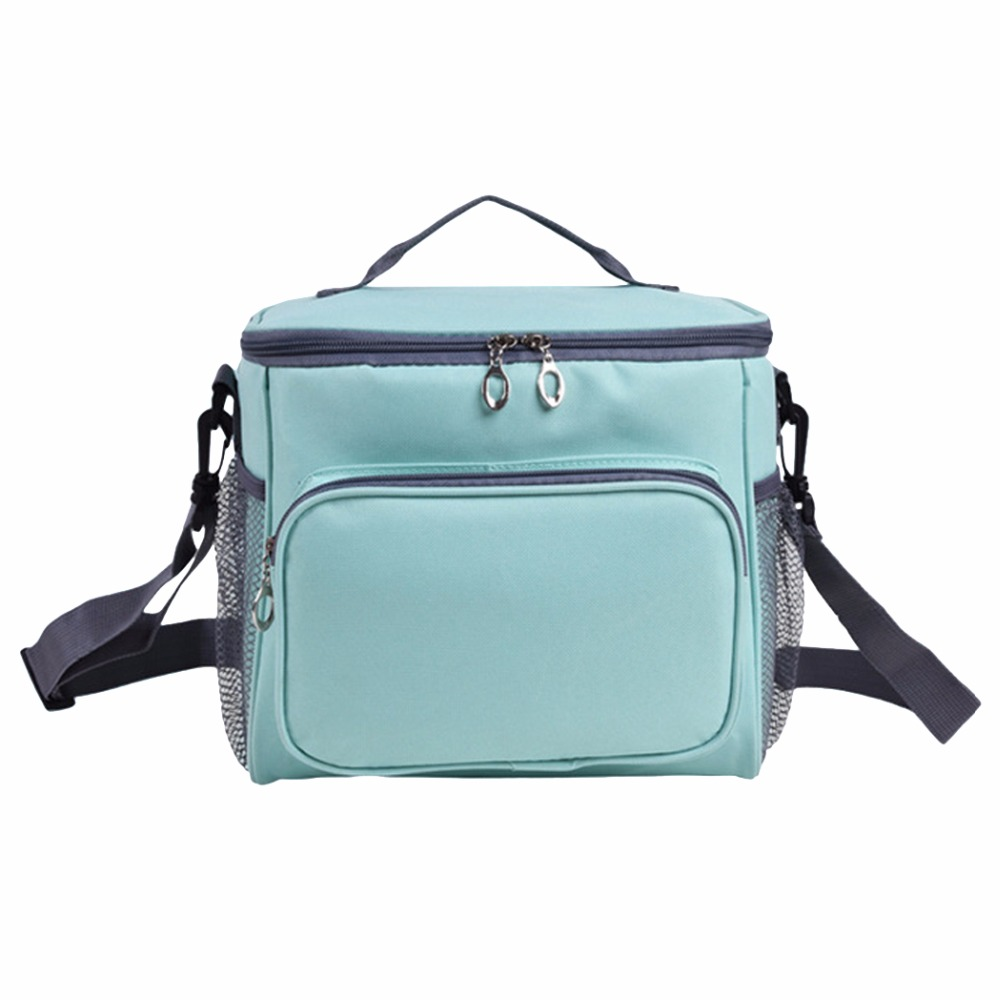 Thicken Folding Fresh Keeping Waterproof Nylon Lunch Bag Cooler Bag For Steak Insulation Thermal Bag Insulation Ice Pack