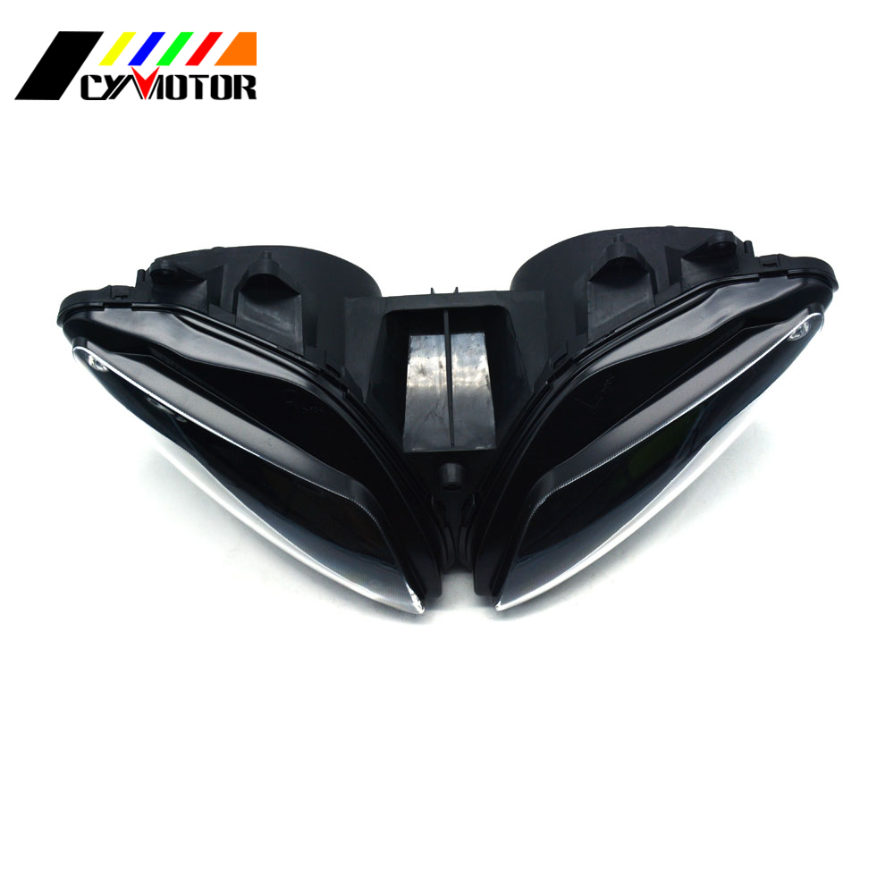 Motorcycle Front Headlight Headlamp For YAMAHA YZF-R1 YZFR1 YZF R1 2002 2003 02 03 Street Bike цена