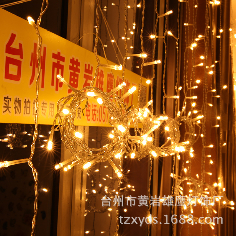 2018 Spotlight Christmas Lights Christmas Product Trade Export Scene Layout Outdoor Waterproof Solar Lights Curtain 3*3 Light -in LED Spotlights from Lights ... & 2018 Spotlight Christmas Lights Christmas Product Trade Export Scene ...