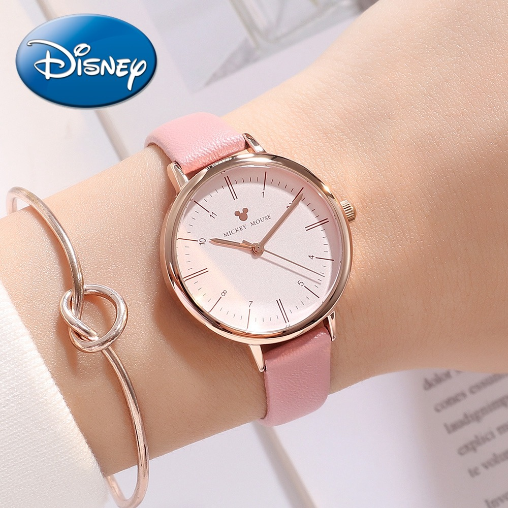 Children's Watches Honey 100% Genuine Disney Cartoon Frozen Children Girl Watches Silicone Quartz Students Girls Clocks Number Waterproof Original Suitable For Men And Women Of All Ages In All Seasons