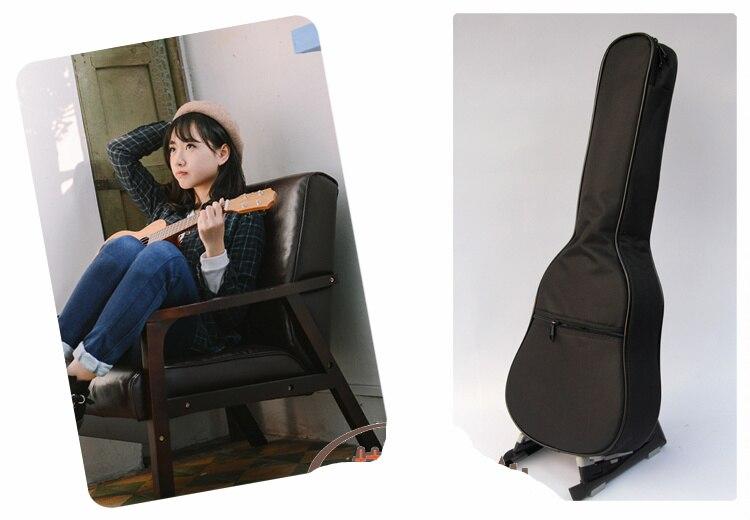 Thicken Black Soprano Concert Tenor Ukulele Bag Case Backpack 21 23 24 26 Inch Ukelele Beige Guitar Accessories Parts Gig